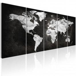 Vícedílný obraz - tmavý svět (150x60 cm) - Murando DeLuxe