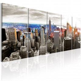 Vícedílný obraz - New York (150x60 cm) - Murando DeLuxe