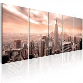 Vícedílný obraz - New York Manhattan (150x60 cm) - Murando DeLuxe