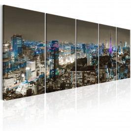 Vícedílný obraz - Tokio (200x80 cm) - Murando DeLuxe
