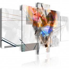 Barevné abstraktní kameny (200x100 cm) - Murando DeLuxe