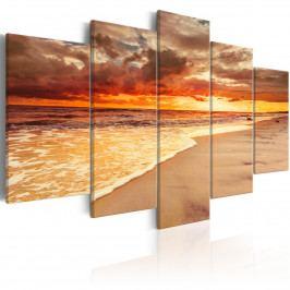 Moře a východ slunce (200x100 cm) - Murando DeLuxe