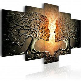 Obraz - Milostné vyznání (200x100 cm) - Murando DeLuxe
