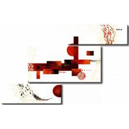 Červená hádanka (132x81 cm) - Murando DeLuxe