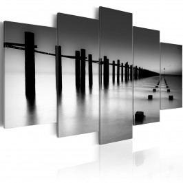 Melancholický výhled na moře (200x100 cm) - Murando DeLuxe