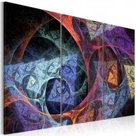 Abstraktní obrazy - barevný sen (90x60 cm) - Murando DeLuxe