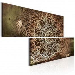 Dvoudílné obrazy - Mandala (180x90 cm) - Murando DeLuxe