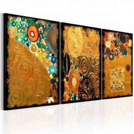 Zlatá představivost (120x60 cm) - Murando DeLuxe
