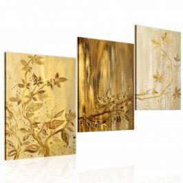 Obraz - Zlaté listy (90x65 cm) - Murando DeLuxe