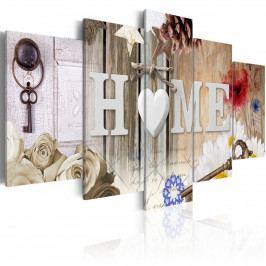 Dům srdce (200x100 cm) - Murando DeLuxe