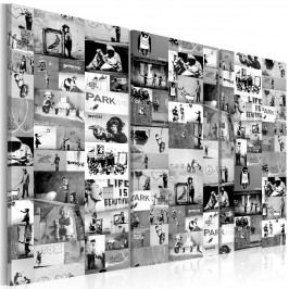 Třídílné obrazy - Street Art II. (150x100 cm) - Murando DeLuxe