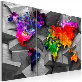 Obraz - barevný svět (90x60 cm) - Murando DeLuxe