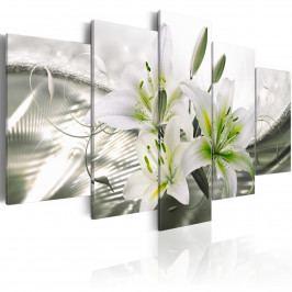 Zelená elegance (200x100 cm) - Murando DeLuxe