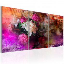 Třídílné obrazy - stíny krásy (120x60 cm) - Murando DeLuxe