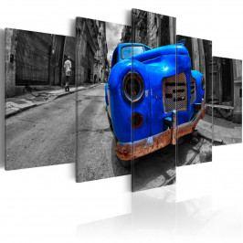 Modrý vrak (200x100 cm) - Murando DeLuxe
