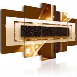 Zlatý pruh (200x100 cm) - Murando DeLuxe