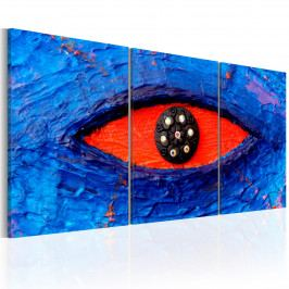 Třídílné obrazy - božské oko (120x60 cm) - Murando DeLuxe