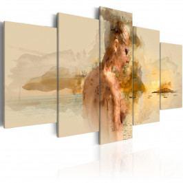 Ztracená v ráji (200x100 cm) - Murando DeLuxe