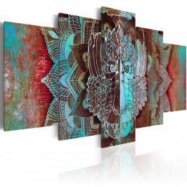 Pětidílné obrazy - maska (200x100 cm) - Murando DeLuxe