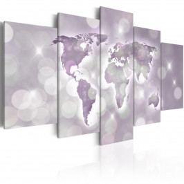 Fialový svět (200x100 cm) - Murando DeLuxe
