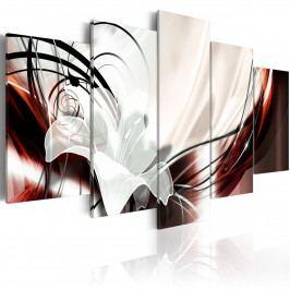 Pětidílné obrazy - milostná královna (200x100 cm) - Murando DeLuxe
