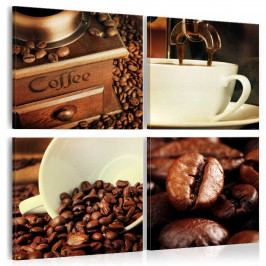 Obrazy na stěnu - káva (80x80 cm) - Murando DeLuxe