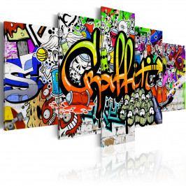Dětské graffiti (200x100 cm) - Murando DeLuxe