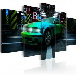 Pětidílné obrazy - auto (200x100 cm) - Murando DeLuxe