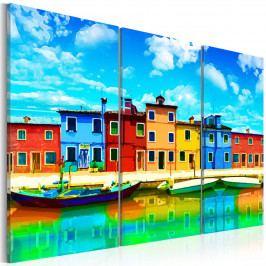 Slunečné ráno v Benátkách (150x100 cm) - Murando DeLuxe