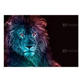Tapeta zvířata -Lev ll. (150x105 cm) - Murando DeLuxe
