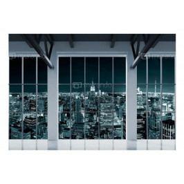 Fototapeta New York za okny (150x105 cm) - Murando DeLuxe