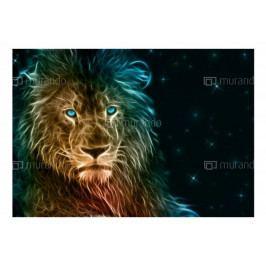 Tapety zvířata - Lev (150x105 cm) - Murando DeLuxe
