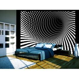 * Tapeta spirála noci (400x309 cm) - Murando DeLuxe