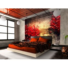 Červený vulkán (150x116 cm) - Murando DeLuxe