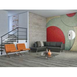 Tapeta retro styl (150x116 cm) - Murando DeLuxe