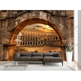 Římský amfiteátr v Pule (150x105 cm) - Murando DeLuxe