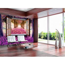 Fototapeta kouzelné okno (150x105 cm) - Murando DeLuxe