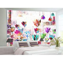 Malované tulipány (150x105 cm) - Murando DeLuxe