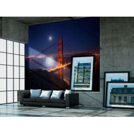 Fototapeta - Most Golden Gate (150x116 cm) - Murando DeLuxe