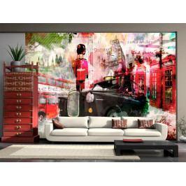 Tapeta Londýnské ulice (150x105 cm) - Murando DeLuxe
