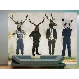 Tapeta Zvířecí podstata (150x116 cm) - Murando DeLuxe
