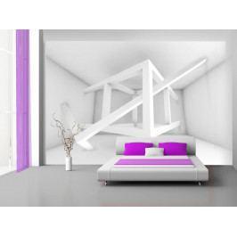 Abstraktní kompozice (150x105 cm) - Murando DeLuxe