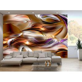 Barevné vlnobití (150x105 cm) - Murando DeLuxe