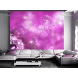 Tapeta růžové kouzlo (150x105 cm) - Murando DeLuxe