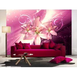 Tapeta mrazivé lilie ll. (150x105 cm) - Murando DeLuxe