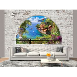 Okno do ráje (150x105 cm) - Murando DeLuxe