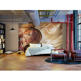 Dřevo a fantazie (150x105 cm) - Murando DeLuxe