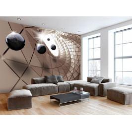 Abstraktní utopie (150x105 cm) - Murando DeLuxe