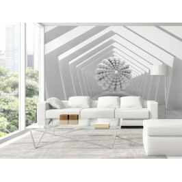 3D tapeta Abstraktní cesta (150x105 cm) - Murando DeLuxe