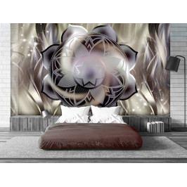 Tapeta mandala - abstraktní květ ll. (150x105 cm) - Murando DeLuxe